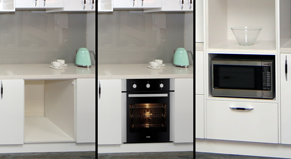 oven & microwave cabinets